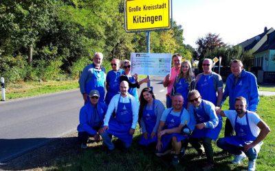 Spendenübergabe von Pro Kitzingen an Lebenshilfe